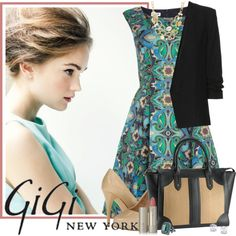 """Work To Evening W Gigi New York"" by pinning-polybabe on Polyvore"