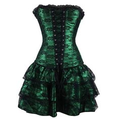 Steampunk Corset Push Up Party Dress
