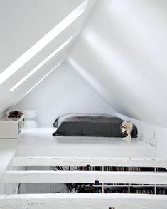 loft bedroom in copenhagen