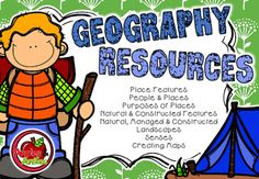 Thank you for viewing my NEW Geography resources!In this packet you will find 11 different activity sheets to support your teaching of geography in your early years classroom.The concepts covered include:* Place Features* People & Places* Purposes of Places* Natural & Constructed Features* Natural, Managed & Constructed Landscapes* Senses* Creating MapsYou can have a look at the thumbnails above to see exactly what is included.