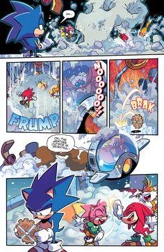 Sonic: Mega Drive - The Next Level Full - Read Sonic: Mega Drive - The Next Level Full comic online in high quality