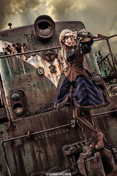 claranetzien Steampunk Lolita 13087646_1736372529980407_6166138629152196831_n.jpg (JPEG Image, 640×960 pixels)
