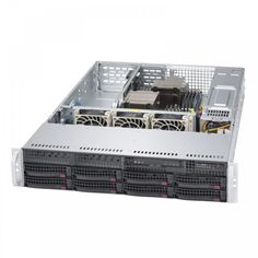 SuperServer Barebone System - Rack-mountable - Intel Chipset - Socket - 2 x Total Processor Monitor, Server Rack, Drive Bay, Racking System, Hot, Black, 1 Year, Technology, Electronics