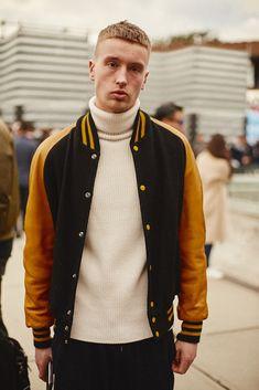 Pitti Uomo Pitti93 Street style Menswear Pitta, Gq, Menswear, Street Style, Mens Fashion, Model, How To Wear, Jackets, Moda Masculina