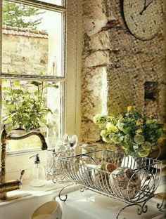 Attentive compared french country shabby chic home Get More Info French Country Kitchens, French Country Cottage, French Countryside, French Country Style, French Farmhouse, Cottage Style, Country Life, Rustic French, English Kitchens