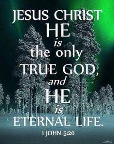 Bible... 1 John 5:20