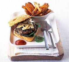 20 συνταγές της μισής ώρας! - www.olivemagazine.gr Hamburger, Recipies, Easy Meals, Ethnic Recipes, Food, Recipes, Essen, Quick Easy Meals, Burgers