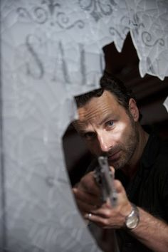 """Andrew Lincoln in """"The Walking Dead"""""""