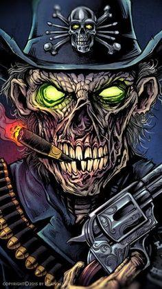 Skull Wallpaper, Graphic Wallpaper, Arte Horror, Horror Art, Badass Drawings, Gothic Fantasy Art, Totenkopf Tattoos, Rock Poster, Beautiful Dark Art