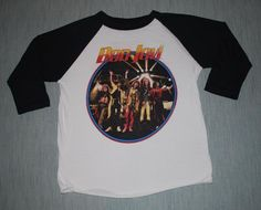 Vintage 1987 Bon Jovi Slippery When Wet Tour Jersey Shirt Rare a759ff8fee33