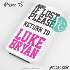 Luke Bryan Quotes Phone case for iPhone 4/4s/5/5c/5s/6/6 plus