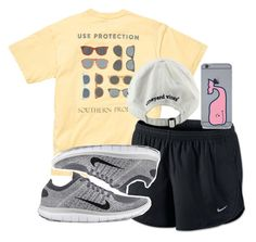 """""""Ephesians 3:20"""" by judebellar03 ❤ liked on Polyvore featuring NIKE and Vineyard Vines"""