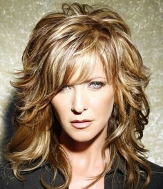 Layered Hairstyles Women Over 40 | layered hairstyles | Medium Layered Hairstyles For Women Over 40 ...