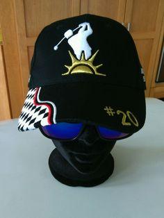 0aa04c4875d Rip It Head Gear Men s Black White Baseball Cap Adjustable Fit Hat Golf  Canada