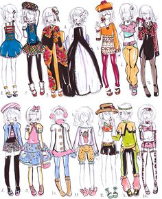 Dylan s wardrobe by bejja Manga Clothes, Drawing Anime Clothes, Dress Drawing, Fashion Design Drawings, Fashion Sketches, Anime Outfits, Cute Outfits, Clothing Sketches, Art Reference Poses