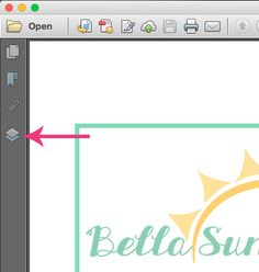 Tips & Tricks for PDF Sewing Patterns: How to use the layers feature in PDF Patterns. So cool!
