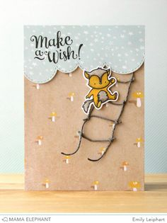 Stamp Highlight : Make A Wish (Emily Leiphart for Mama Elephant)