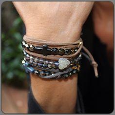 Bracelet Linda  Perles d'Au
