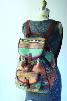 Vintage backpack. oy vey, that price..