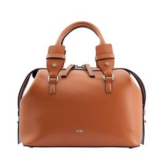 630496abc3 N°21 - Tan Leather Shoulder Bag Pochette Marroncina, Borse A Tracolla, Pelle