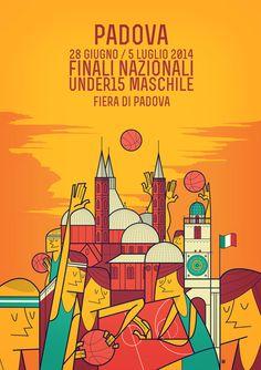 Ale Giorgini  Finali Nazionali Basket by Ale Giorgini, via Behance