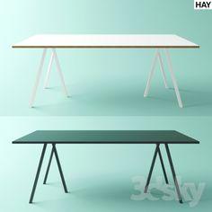 Hay Loop Green Dining table