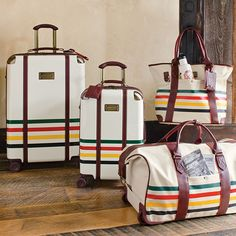 Glacier National Park luggage by Pendleton. A portion of your purchase goes to support the National Park Foundation.