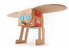 My Owl Barn: Egg Carton and Cardboard Sculptures by Katya Kozlova