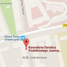 Kancelaria Doradcy Podatkowego Joanny Rudzkiej - Google Maps