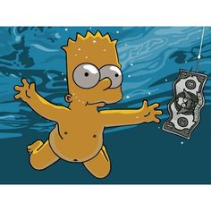Simpsons_Bart. ❤ liked on Polyvore featuring pictures, set fillers, simpsons, backgrounds and people