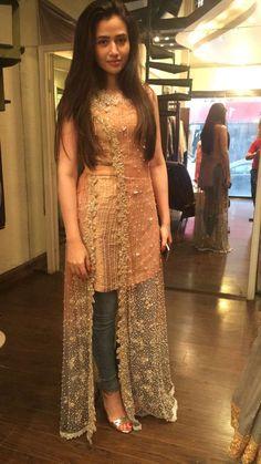 short kurtis girls, anarkali suits,  Daisy Shah@ http://ladyindia.com