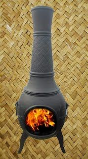 QUALITY Cast Iron Chiminea for sale on Trade Me, New Zealand's auction and classifieds website Chiminea, Home Living, Cast Iron, Stove, Home Appliances, Outdoor Furniture, Wood, House Appliances, Range