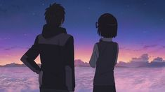 """Beautiful scenes in Your Name. Kimi No Na Wa, Your Name Anime, Anime Music Videos, Mood Pics, Anime Screenshots, One Piece Manga, Pretty Words, Short Film, Insta Pic"