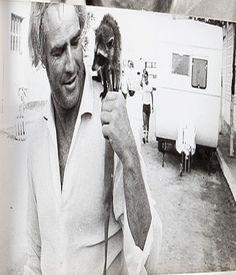 "Marlon Brando on the set of ""Burn"" C.1969. #Brando #Burn"