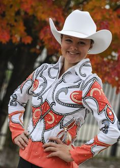 Show Me Western Designs - Custom horse show and rodeo clothing for ladies and children.