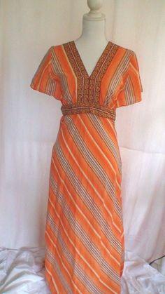 Kit Cornell Vintage Inspired Boho Dress Women's Size S Measurements Provided #KitCornell