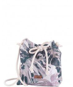 Mała tkaninowa torebka basic w palmy - me&BAGS