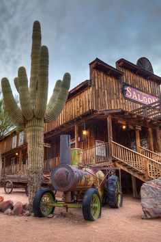 Goldfields Ghost Town in Apache Junction Arizona