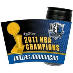 Dallas Mavericks 2011 NBA Champions 16oz. Insulated Plastic Travel Tumbler