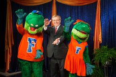 Because President Fuchs has every Gator's heart!