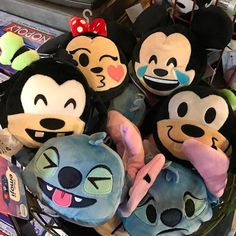 Disney Emoji Blitz dolls for sale at Animal Kingdom. They are $8 each. You can also buy them through the Shop Disney Parks app. . . . . #disney #emoji #emojiblitz #game #app #plush #animalkingdom #wdw #disneyworld #twitter