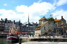 Visitare Honfleur, alla scoperta di un porto del nord,dove la Senna incontra l'oceano. www.arttrip.it/honfleur/