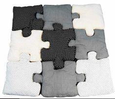 """Pièces de puzzle """"Petits riens pour chambre d'enfant"""""""