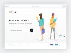 Readng - Beta Sign Up