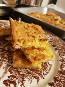 ΜΑΓΕΙΡΙΚΗ ΚΑΙ ΣΥΝΤΑΓΕΣ 2: Μπατζίνα !!!! Cornbread, Lasagna, Food And Drink, Menu, Ethnic Recipes, Salads, Millet Bread, Menu Board Design, Corn Bread
