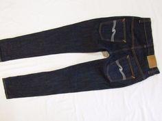 mens jeans Nudie Thin Finn organic dry ecru  29/32 #Nudie #SlimSkinny