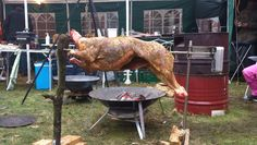 Whole Lamb on spit