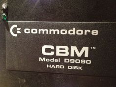 Commodore Pet IEEE Model D9090 7 5 Megabyte Hard Disk CBM 2001 8032 9090