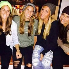 Tobin Heath # Alex Morgan Kelley O'Hara # Allie Long