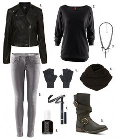 6eed9848 Style Emo, Emo Fashion, Androgynous Fashion, Biker Boots Outfit, Lisbeth  Salander,